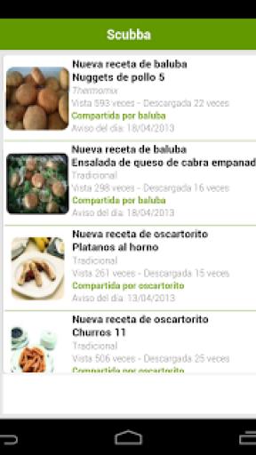 Recetario, recetas de cocina screenshot 5