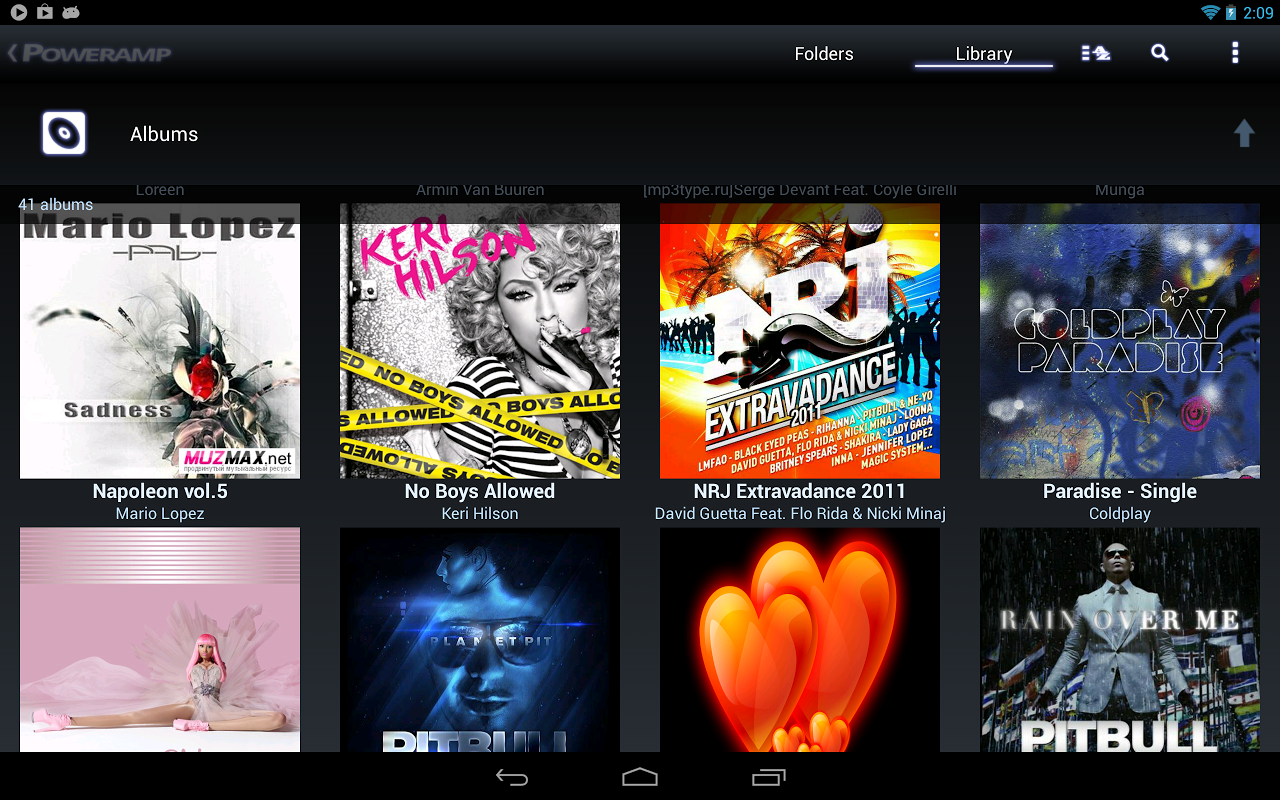 Poweramp Music Player (Trial) screenshot 2