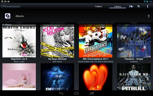 Poweramp screenshot 2