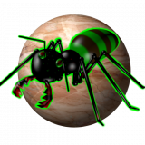 3D Zombie Ant Smash Ball Icon