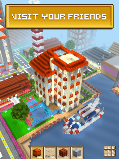Block craft 3d building game download apk for android for Crafting and building app store