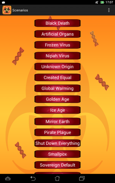 how to win plague inc bacteria normal android