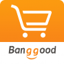 banggood shopping with fun icon