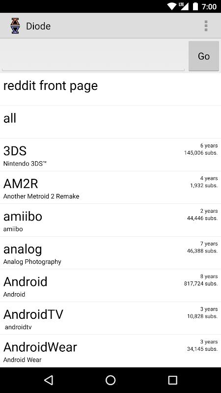 Diode for Reddit screenshot 2