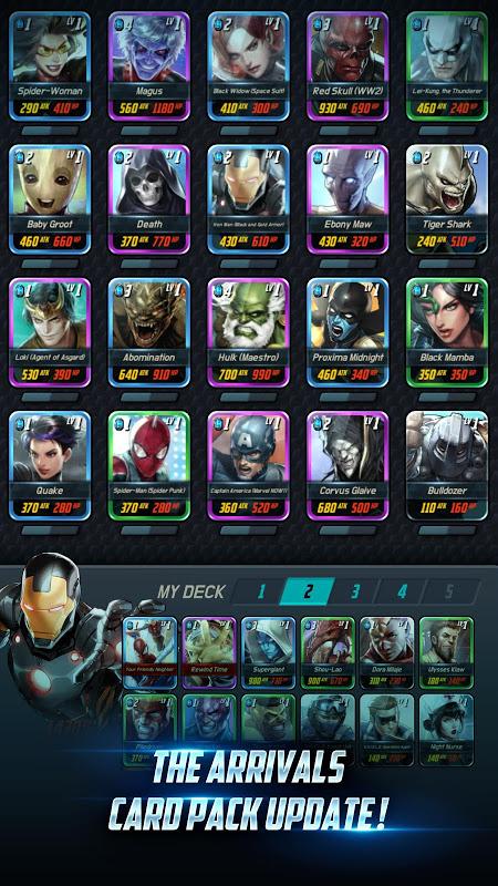 MARVEL Battle Lines screenshot 2