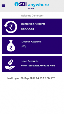 online sbi saral corporate banking