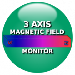 3 Axis Magnetic Field Monitor 1 21 Download APK for Android