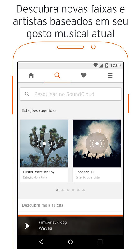 SoundCloud - música e áudio screenshot 2
