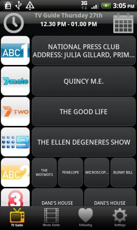 TV & Movie Guide Australia 2 94 Download APK for Android - Aptoide
