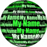 my name in 3d live wallpaper icon
