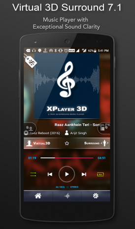3D Surround Music Player 1 7 01 Download APK for Android - Aptoide
