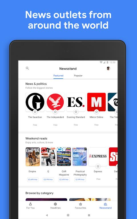 Google Play Newsstand screenshot 11