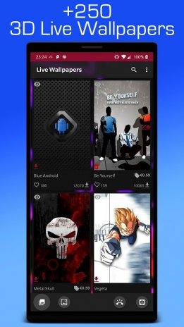 Parallax Live Wallpaper Hd Backgrounds Ringtones Screenshot 7