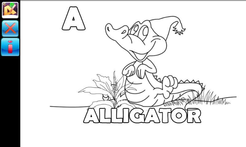 Paint The Alphabet For Kids