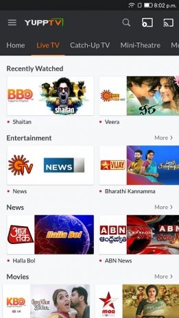 YuppTV - LiveTV Movies Shows 7 6 7 Download APK for Android