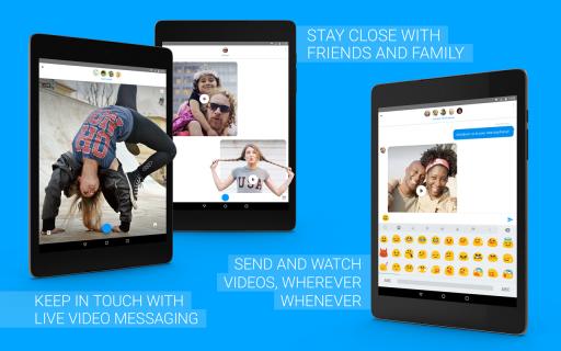 Glide - Video Chat Messenger screenshot 1