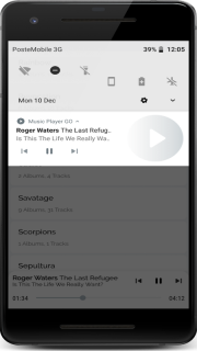 Music Player for Android screenshot 1