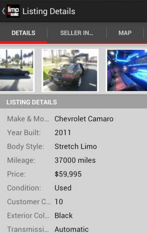 Limoforsale Used Limousines 1 0 9 Download Apk For Android Aptoide