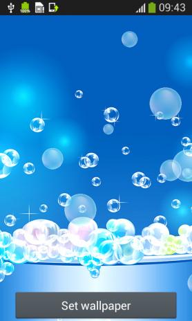 Bubbles Live Wallpapers Screenshot 5