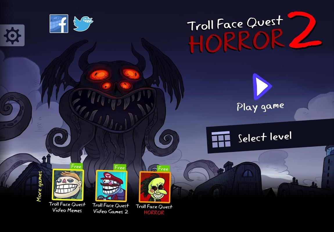 Troll Face Quest Horror 2: 🎃Halloween Special🎃 screenshot 1