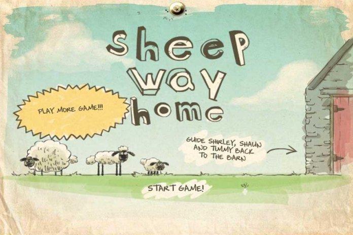 shaun the sheep game home sheep home 1