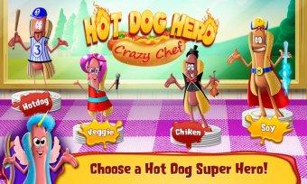 Hot Dog Hero - Crazy Chef Screenshot