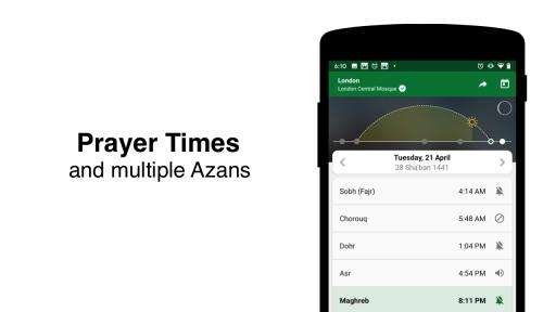 Muslim Pro: Quran, Prayer Times, Qibla Finder screenshot 2