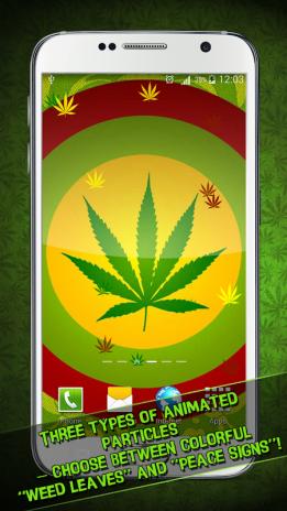 Weed Live Wallpaper Screenshot 1 2