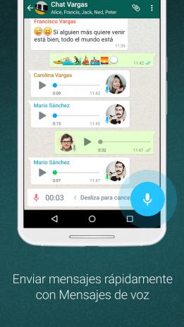 descarga whatsapp para android gratis