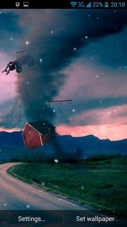 Tornado 3d Live Wallpaper Screenshot 3