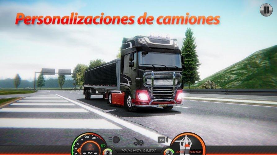 Simulador de Camión : Europa 2 screenshot 7