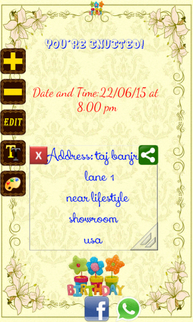 Free birthday invitation card maker software 28 images wedding free stopboris Images