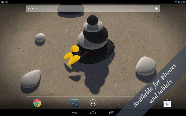 3d Zen Stones Live Wallpaper Free 13 Télécharger Lapk Pour Android