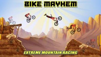 Bike Mayhem Mountain Racing Screen