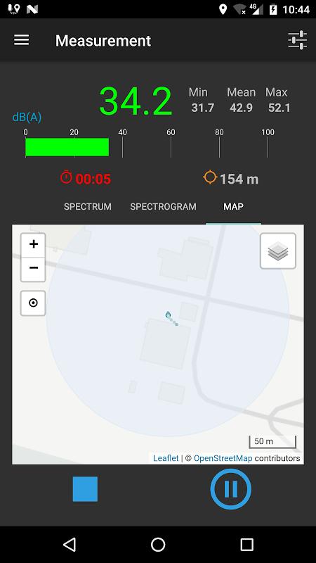 NoiseCapture screenshot 7