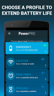 PowerPro: Battery Saver - manage your battery life screenshot 4