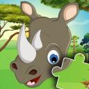 Cute Kids Puzzles - Animal jigsaws 🦁