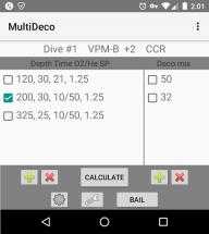 MultiDeco screenshot 1