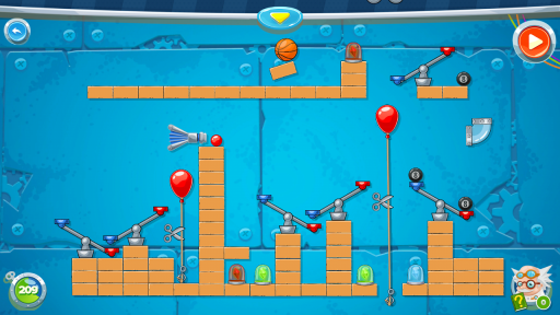 Rube's Lab - Physics Puzzle screenshot 3