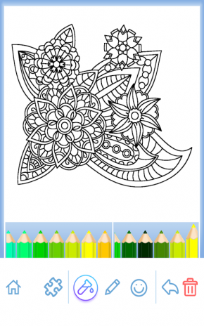 Coloring Book For Adults Screenshot 16