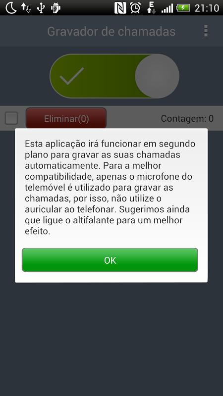 Gravador de chamadas screenshot 2