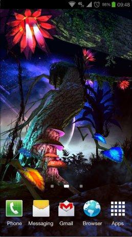 Alien Jungle 3d Live Wallpaper Screenshot 8