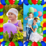 Balloons Photo Collage Icon