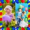 Balloons Photo Collage Icon