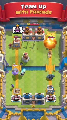 is clash royale down