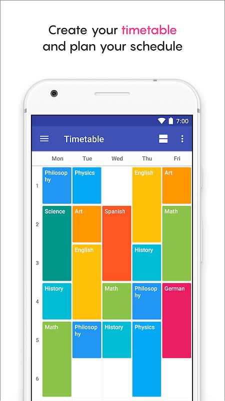 School Planner screenshot 2