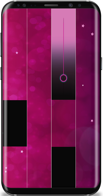 Pink Piano Tiles screenshot 1