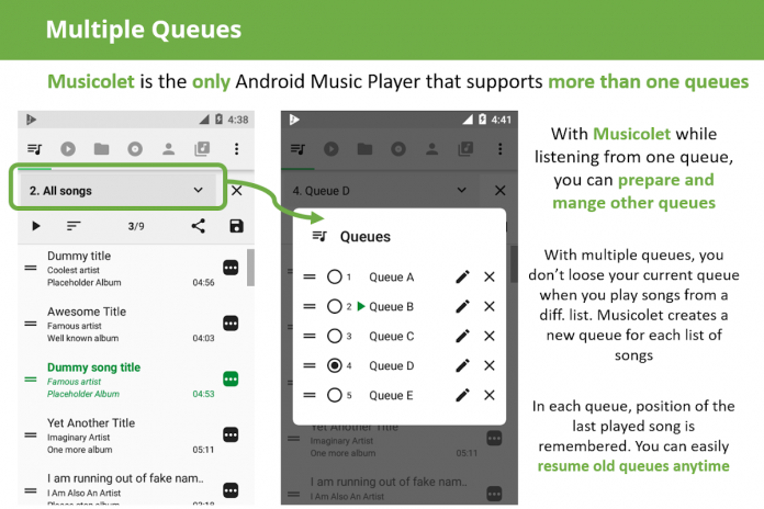 Musicolet Music Player [Free, No ads] 4 1 build157 Download