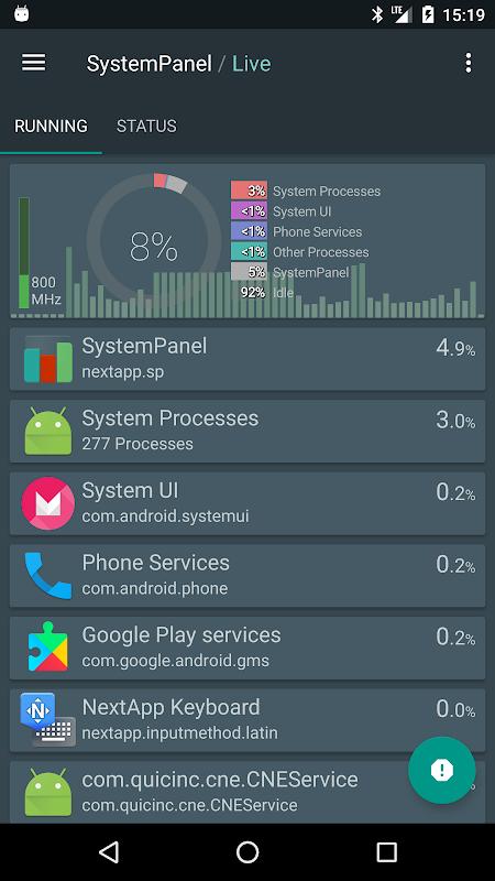 SystemPanel 2 screenshot 2