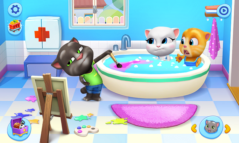 My Talking Tom Friends screenshot 1